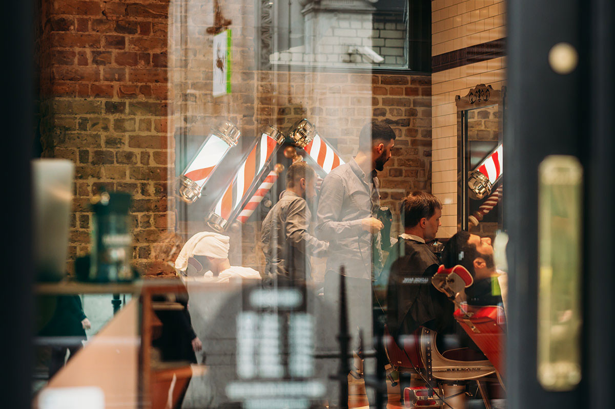 Barber Shop Mortimer Street