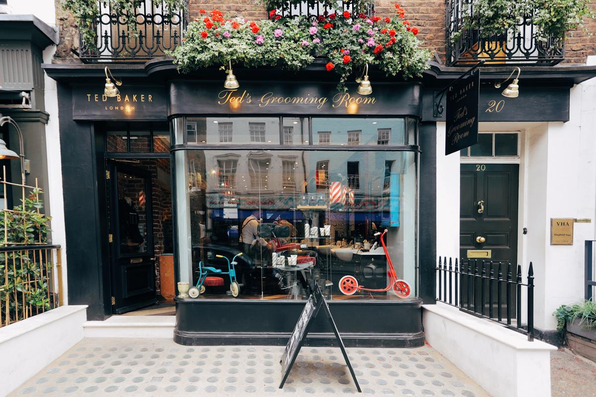 Barbers in Charlotte Street